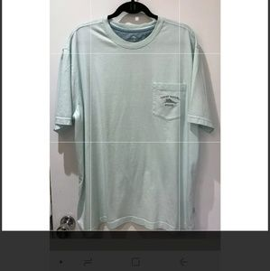 Tommy Bahama Relax Mint Green Tshirt Size XL